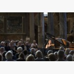 <p>July 1st, Angela Hewitt in San Pietro: Bach WTC I</p><br>
