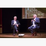 <p>July 2nd, Eric Friesen & Sir Richard Eyre</p><br>