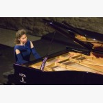 <p>Angela in the final recital</p><br>