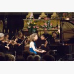 <p>Angela plays Beethoven</p><br/>