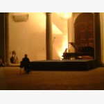 <p>At the Gubbio concert</p><br>