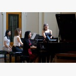 <p>Sylvie playing Mozart</p><br>