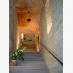 <p>Inside the castle in Magione</p><br/>