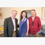 <p>July 9th. Eric Friesen, Angela Hewitt & Roger Allam</p><br/>
