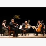 <p>July 9th, Magione. Angela Hewitt & Quartetto di Cremona</p><br/>
