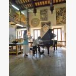 """<p>Masterclass at Liceo Artistico """"Leoncillo Leonardi"""" in Spoleto</p><br>"""