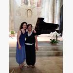 <p>Angela Hewitt & Chiara Rossi Profili</p><br>