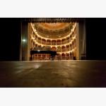 <p>The Fazioli on stage in Bevagna</p><br/>
