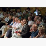 <p>In Magione, the Mayor in the front row</p><br/>