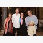 <p>Angela Hewitt with Guglielmo Beneduce & TMF friends</p><br/>