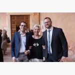 <p>June 30, Vanni Ruggeri, Patrizia Cavalletti &amp; Giacomo Chiodini (sindaco di Magione)</p><br/>