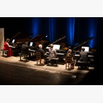 <p>1 July, Canada Day – Teatro Morlacchi, Four Piano Spectacular!</p><br>