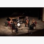 <p>3 July, Cortona, Teatro Signorelli – Calogero Palermo & Gringolts Quartet</p><br>