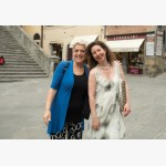<p>3 July, Cortona – Patrizia & Angela</p><br/>