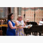 <p>29 June, Assisi – Anna Bonitatibus, mezzo, with Anu Komsi, soprano</p><br>